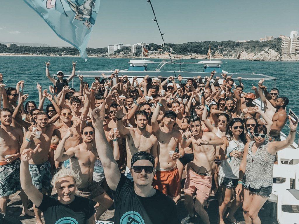 FUNBREAK SALOU 2017 Dj Laura Laffon Boat Party